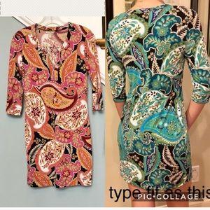 XXSp Banana Republic stretch knit dress 3/4 sleeve